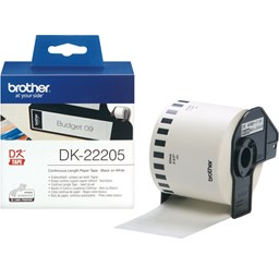 Bild von Brother P-Touch DK-22205, Endlosetiketten 62mmx30.48m