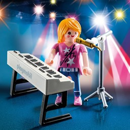 Bild von Playmobil 9095 Special Plus Sängerin am Keyboard