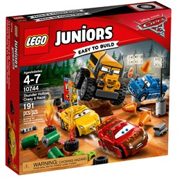 Bild von Lego Juniors 10744 Crazy 8 Rennen in Thunder Hollow
