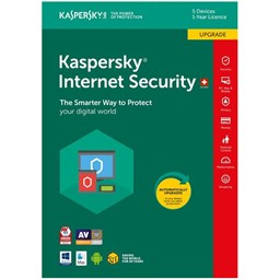 Bild von Kaspersky Internet Security Upgrade, 5 PC, 1 Jahr