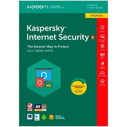 Bild von Kaspersky Internet Security Upgrade, 3 PC, 1 Jahr