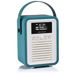 Bild von View Quest Retro Mini DAB+/BT Radio, Teal