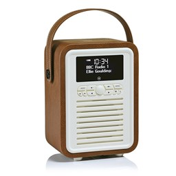 Bild von View Quest Retro Mini DAB+/BT Radio, Braun