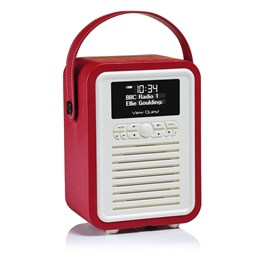 Bild von View Quest Retro Mini DAB+/BT Radio, Rot