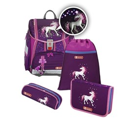 Bild von Step by Step Schulranzen-Set Touch 2 Flash Unicorn