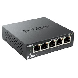 Bild von D-Link DGS-105/E 5 Port Switch Gigabit Ethernet