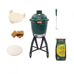 Bild von Big Green Egg Grill Medium Starter-Paket