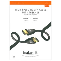 Bild von Inakustik Star High Speed HDMI Kabel 3m