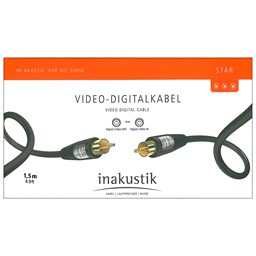 Bild von Inakustik Star Video-Digitalkabel 1,5m