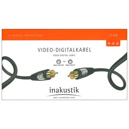 Bild von Inakustik Star Video-Digitalkabel 3m