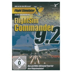 Bild von Flight Sim Commander 9.2  (Add-on für MFS X)