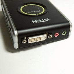 Bild von ATEN Easy 2-Port USB DVI KVM Switch