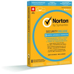 Bild von Norton Security Deluxe 2016 1 User 3 PC